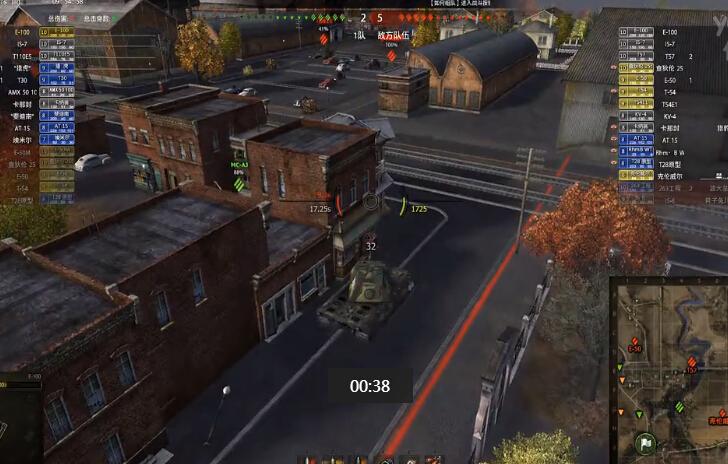 坦克世界E100 擊殺拿M視頻合集 黃金解說