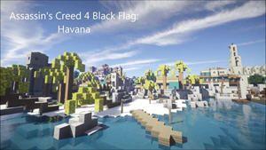 完美復刻 玩家利用《我的世界》打造《刺客信條4》城市哈瓦那