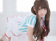 【妹力Max】日本人气Coserえなこ变身小护士,你需要治愈吗?