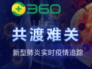 360新型肺炎實時疫情追蹤