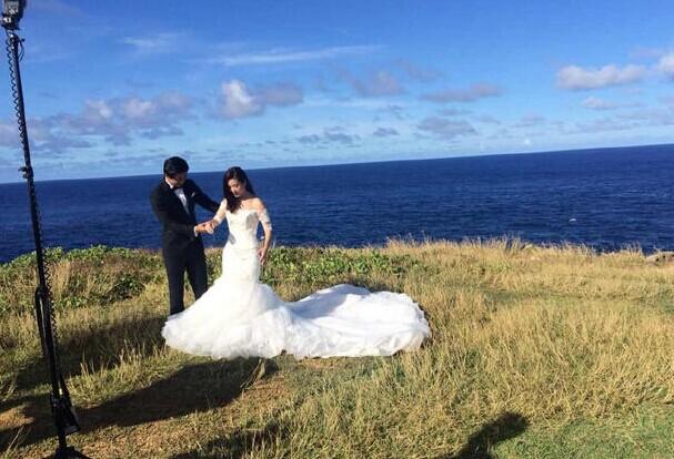 要结婚了!李晟与李佳航赴塞班岛拍婚纱照
